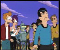 In finale come miglior sceneggiatura anche <i>Where No Fan Has Gone Before</i> da Futurama