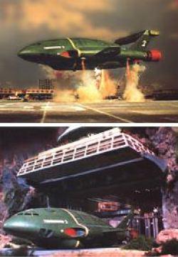 Il Thunderbird 2 in azione