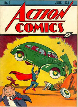 Il primo numero di Action Comics