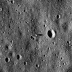 Il sito dello sbarco dell'Apollo 11 fotografato da Lunar Reconnaissance Orbiter