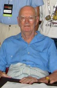 Arthur C. Clarke nel 2005
