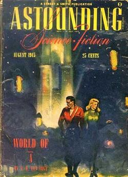 La primissima edizione di <i>Il mondo di Non-A</i>
