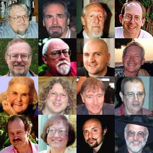 Ecco le foto di alcuni degli scrittori che saranno presenti a Glasgow. Li riconoscete tutti?