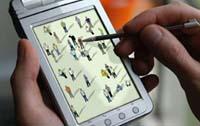 Nella piazza virtuale è facile individuare i propri contatti in base alle fattezze fisiche assegnate.