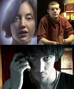 I tre protagonisti della serie