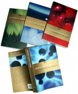 I primi quattro volumi della Biblioteca Cosmo