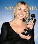 Billie Piper premiata ai National TV Awards