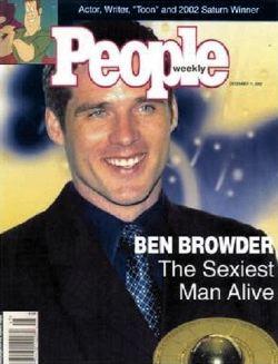 Ben Browder sulla copertina di <i>People</i>