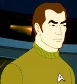 Il capitano April, primo comandante dell'Enterprise
