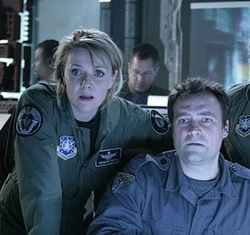Carter e McKay in <i>Atlantis</i>