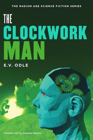 La copertina di The Clockwork Man