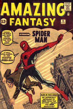 Il numero di Amazing Fantasy in cui compare per la prima volta Spider Man