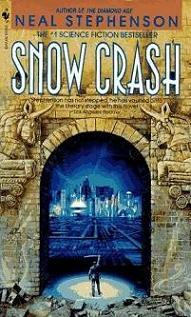 La copertina originale di <i>Snow Crash</i>