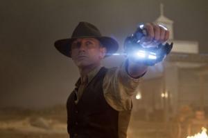 Daniel Craig in Cowboys vs aliens