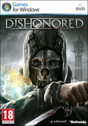 La copertina della versione Pc di Dishonored