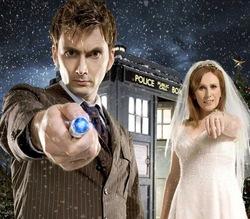 David Tennant e Catherine Tate, la coppia della quarta stagione