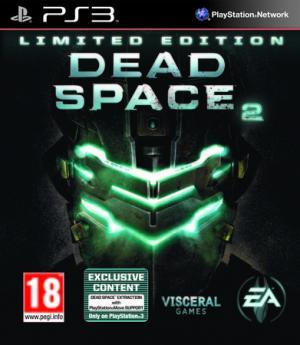 La copertina della versione Ps3 di Dead Space 2, che contiene in esclusiva il prequel hd Dead Space Extraction