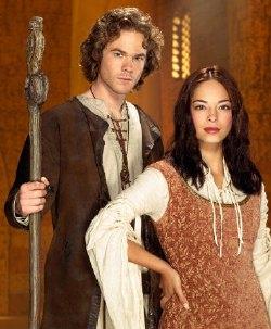 I protagonisti della miniserie <i>Legends of Earthsea</i>, Shawn Ashmore e Kristin Kreuk (conosciuta per <I>Smallville</i>)