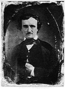 """Dagherrotipo di Edgar Allan Poe. Il poema """"Il corvo"""" del grande scrittore gotico americano è stato usato dal matematico Mike Keith come ispirazione per il suo esperimento di """"constrained writing"""" sul pi greco."""