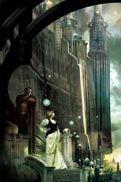 L'opera di Stephan Martiniere vincitrice del Premio Chesley come miglior copertina di rilegato.