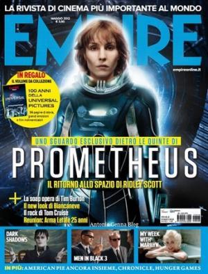La copertina di <i>Empire</i>, numero di maggio