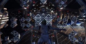 Ender entra in una Sala di battaglia