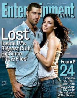 Una copertina di <i>Entertainment Weekly</i> dedicata a <i>Lost</i>