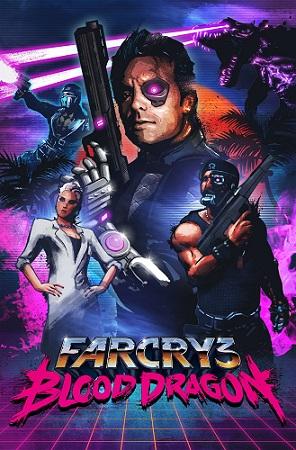 La locandina di Far Cry 3: Blood Dragon porta la firma di James White, già autore del poster anni '80 del film Drive