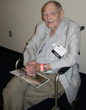 Frederik Pohl nel 2008