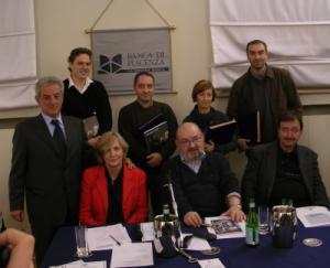 Giurati e finalisti del Premio Galassia 2005 (foto: Paolo Arosio)