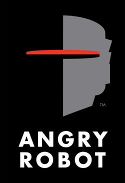 Il logo della Angry Robot.