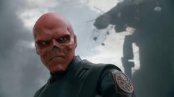 Hugo Weaving nei panni del Teschio Rosso in Captain America