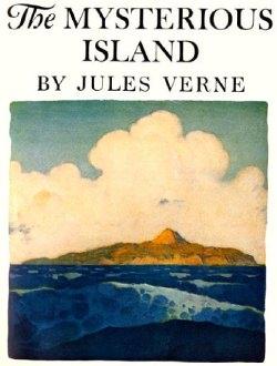 L'isola misteriosa, di Jules Verne (1876), rimane ancora oggi prototipo di vicende a base di...isole misteriose.