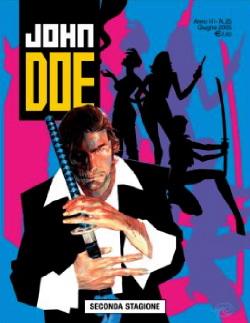 La copertina del numero 25 di John Doe