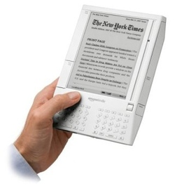 Il Kindle, l'e-book reader lanciato da Amazon