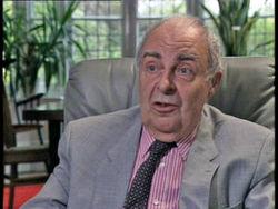 Nigel Kneale durante un'intervista alla BBC