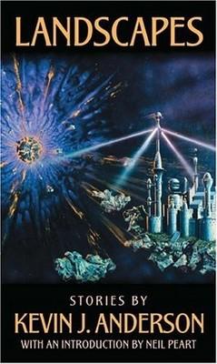 La copertina di Landscape, l'antologia di racconti di Kevin J. Anderson