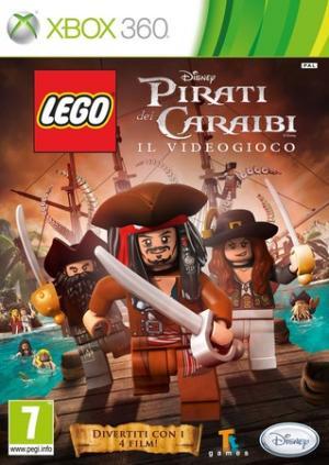 La copertina del gioco dedicato alla saga dei Pirati dei Caraibi