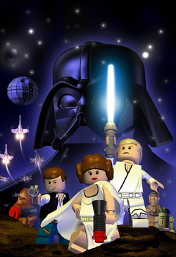 Una foto di gruppo per Lego Star Wars II