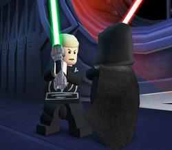Luke fronteggia l'imperatore Manomorta