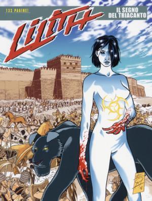 La copertina del numero 1 di Lilith, albo a fumetti creato da Luca Enoch