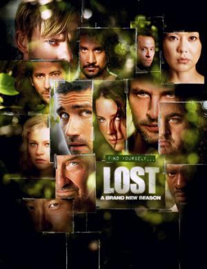 il poster promozionale eella terza stagione di Lost