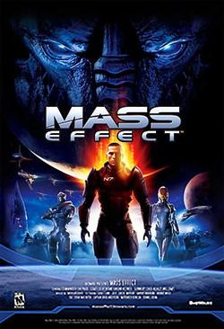 Il poster del primo Mass Effect