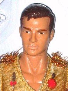 Un <i>action figure</i> dedicato al Kirk del mondo dello specchio