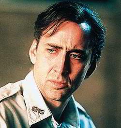 """Nicolas Cage, alla sua prima interpretazione SF doc, sarà """"The Golden Man""""."""