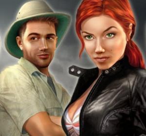 Nina e Max, i protagonisti delle avventure della serie Secret Files