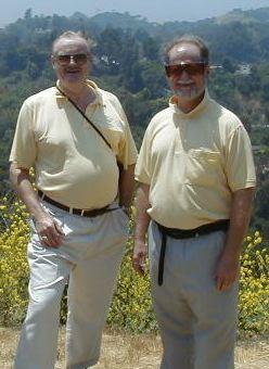 Larry Nivel e Jerry Pournelle (fonte: www.jerrypournelle.com)