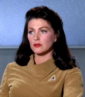 Nel ruolo della Numero Uno dell'Enterprise in <i>The Menagerie</i>