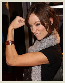 Olivia Wilde mostra i muscoli in vista di Tron 2