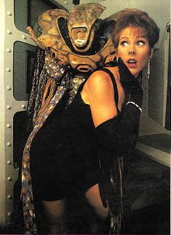 Patricia Tallman e Kosh